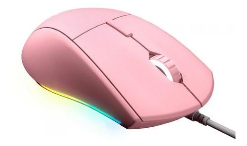 Mouse Gamer Cougar Minos XT RGB 6 Botões Programáveis Rosa 4000DPI 3MMXTWOP.0001