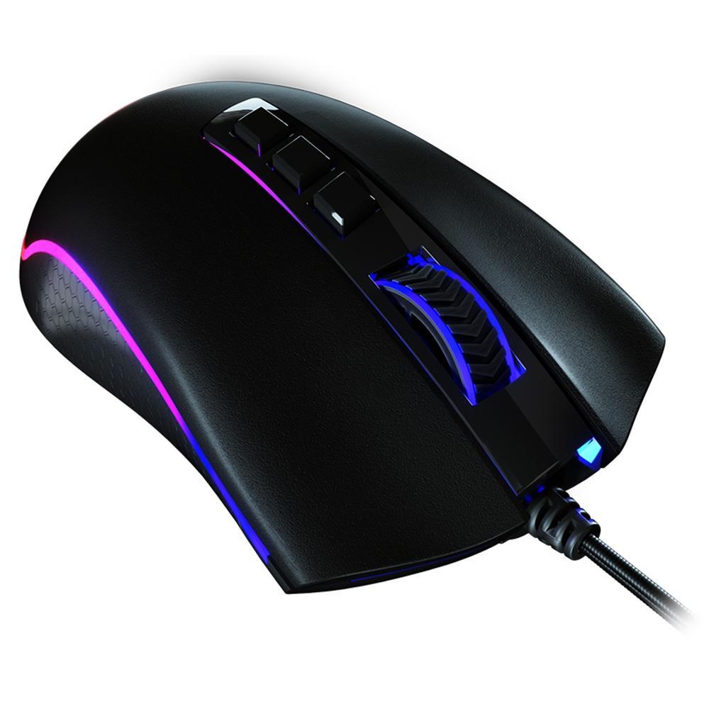 Mouse Gamer King Cobra RGB, 12000Dpi, 8 Botões Programáveis - M711 FPS