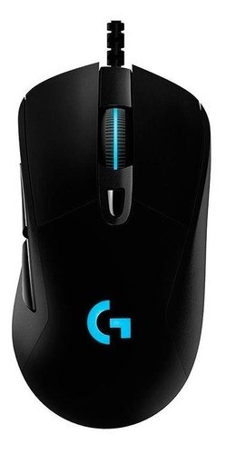 Mouse Gamer Logitech G403 Hero RGB 6 Botões 16000DPI Black 910-005631