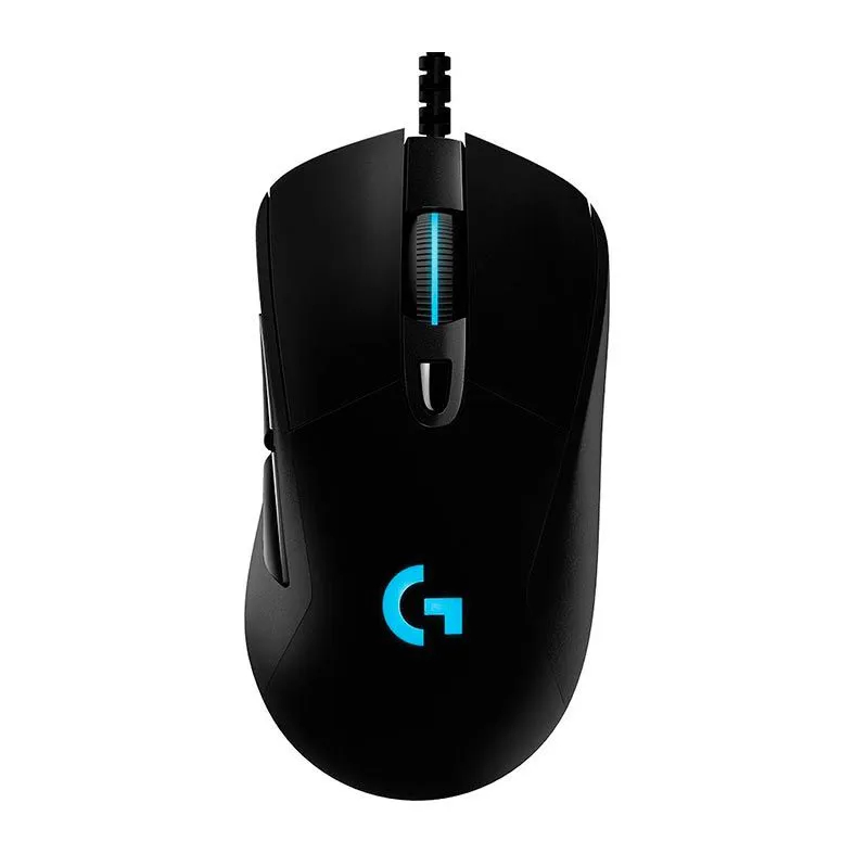 Mouse Gamer Logitech G403 Hero RGB 6 Botões 16000DPI Black 910-005631