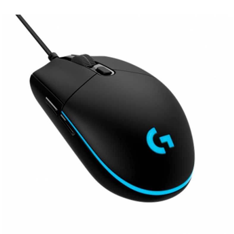 Mouse Gamer Logitech G Pro Hero RGB 16000DPI USB 6 Botões