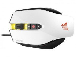 Mouse Gamer M65 Corsair Branco 12000 DPI Pro RGB - CH-9300011-NA