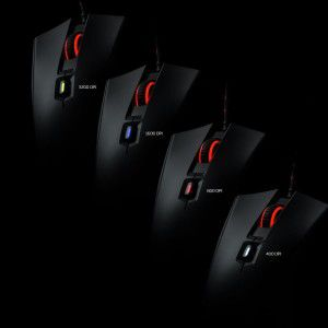 Mouse Gamer Pulsefire HyperX -  HX-MC001A/AM 3200 DPI