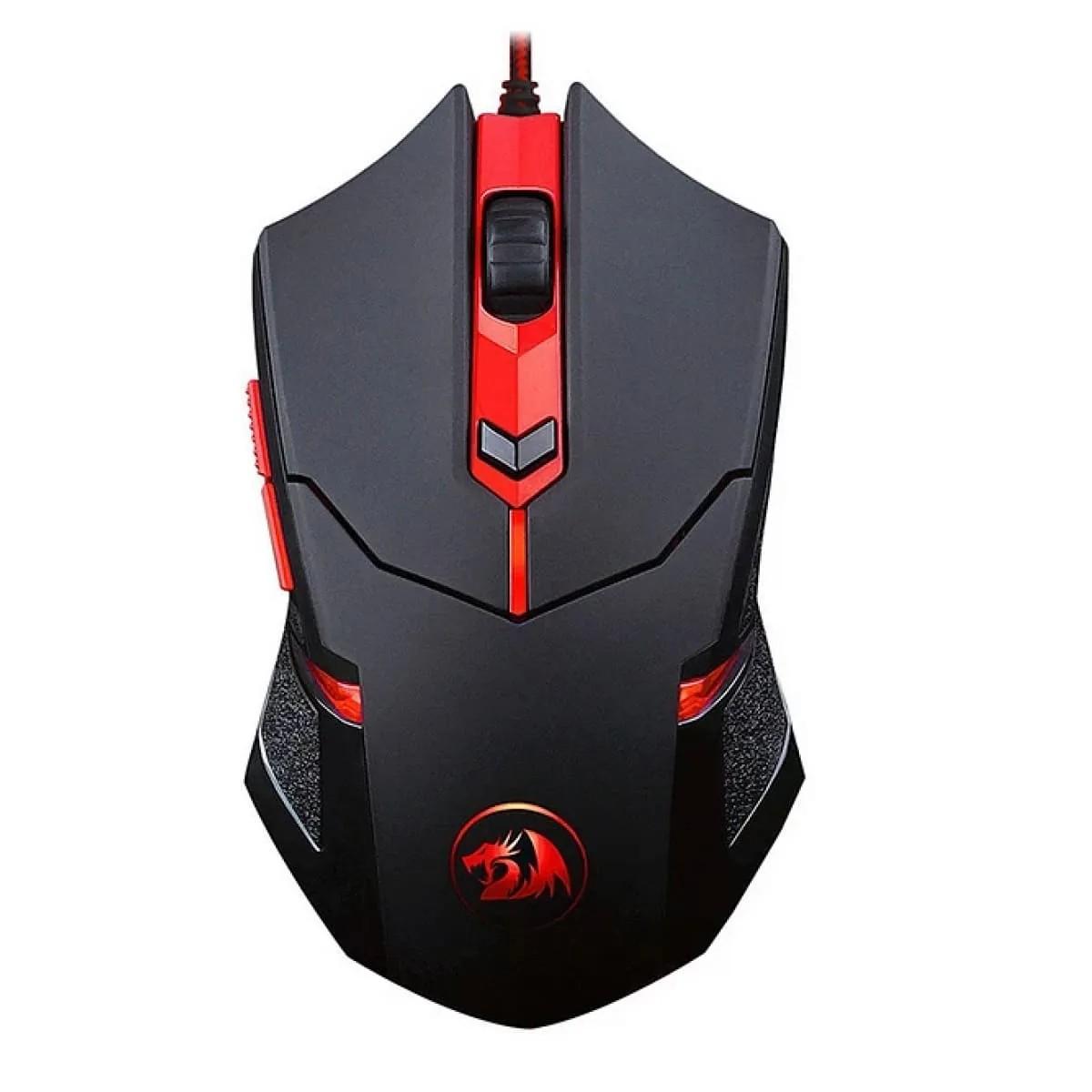 Mouse Gamer Redragon Cerberus M703 RGB 7200 DPI 6 Botões