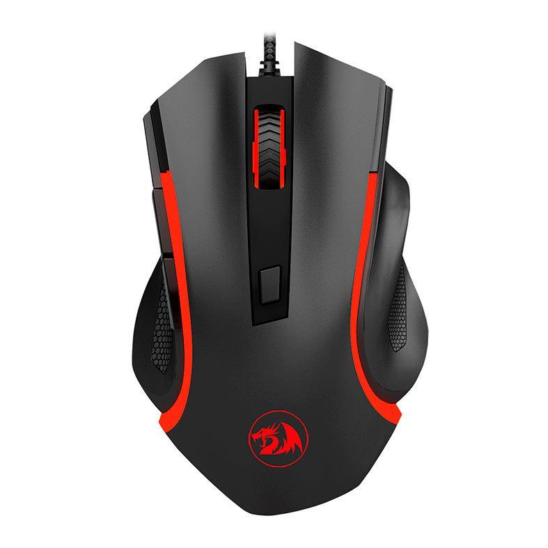 Mouse Gamer Redragon Nothosaur 3200 DPI M606 6 Botões