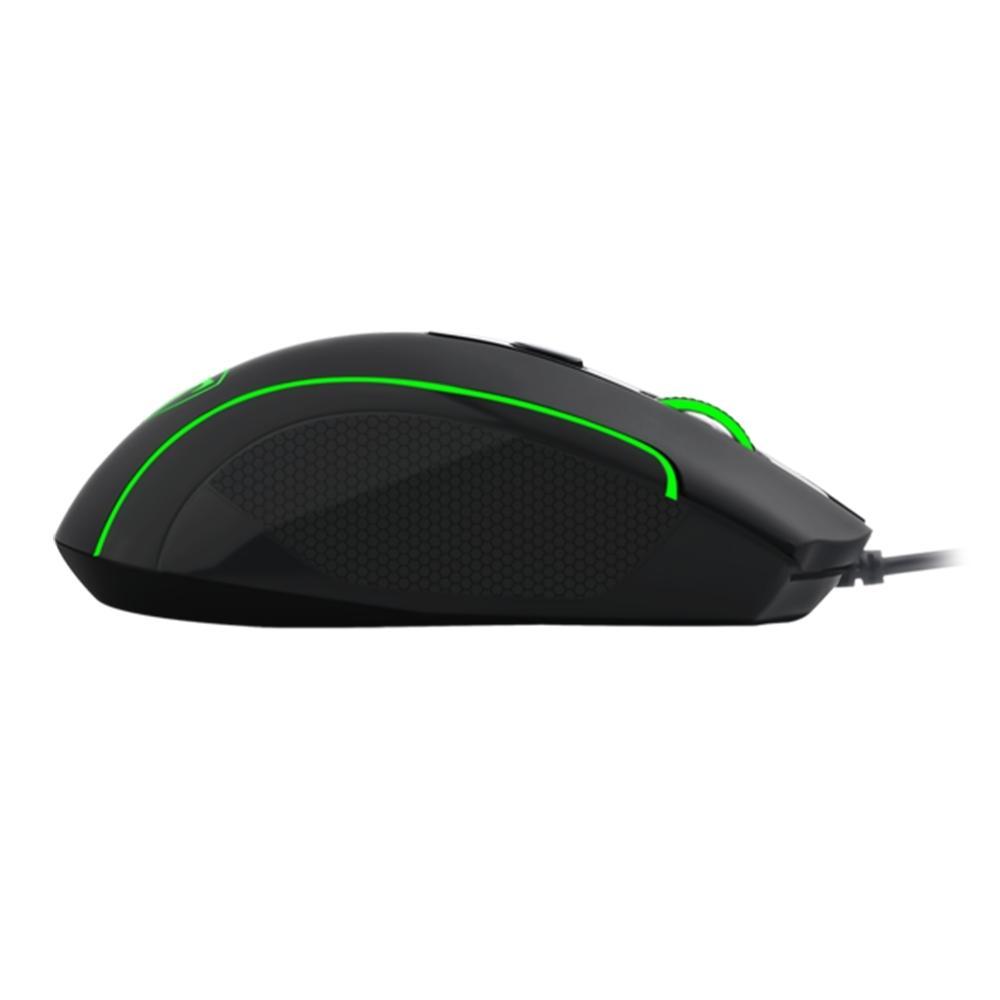 Mouse Gamer T-Dagger Private, LED, 6 Botões, 3200Dpi, Black - T-TGM106