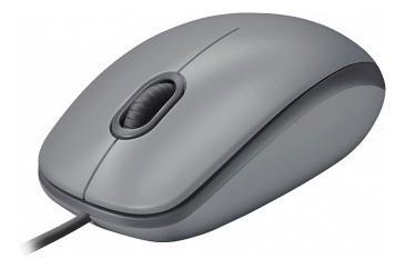 Mouse Logitech M110 Clique Silencioso Cinza 910-005494