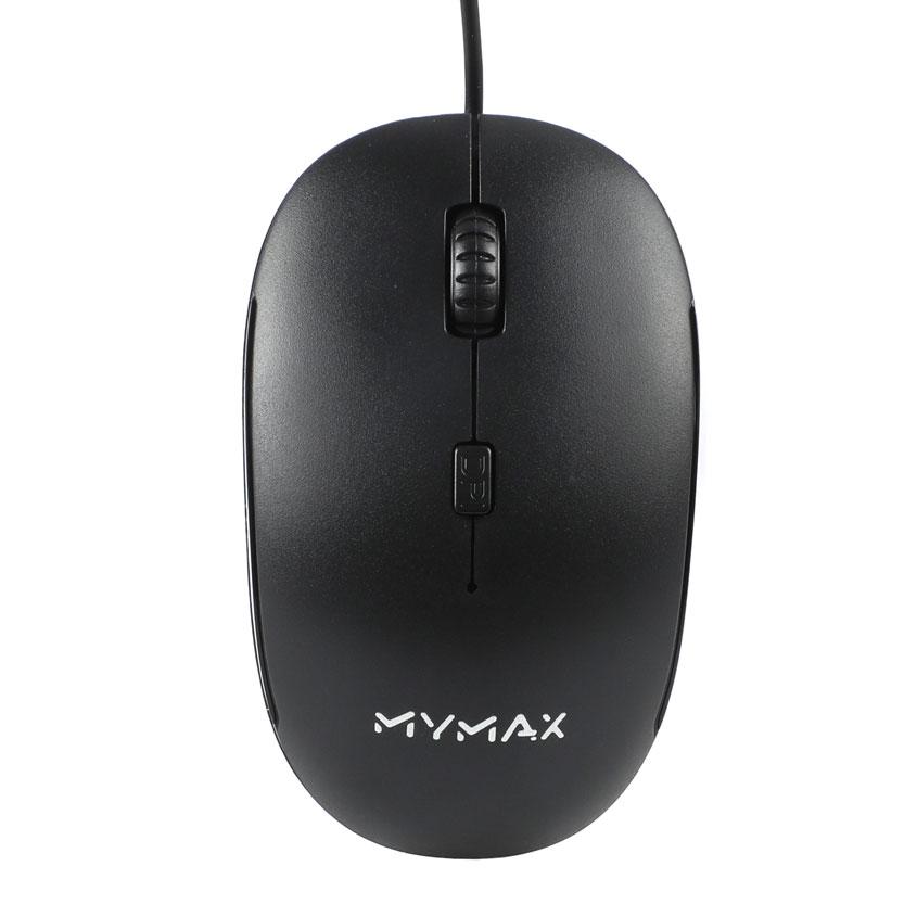 Mouse Óptico USB 1200Dpi 4 Botões - MYMAX MX3830
