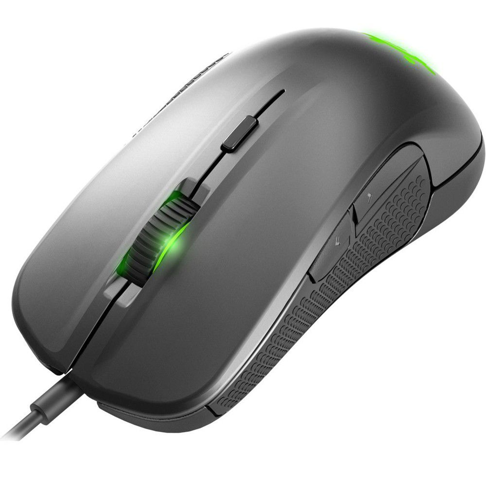 Mouse Steelseries Optico Gamer Rival 300 Silver PR 62350