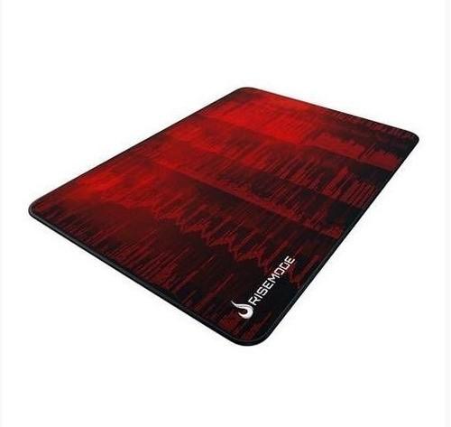 MousePad Gamer Rise Grande 42x29 cm Hacker vermelho RG-MP-05-HCKR