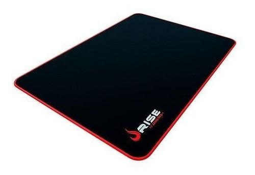 MousePad Gamer Rise Grande 42x29 cm Zero Vermelho RG-MP-05-ZR