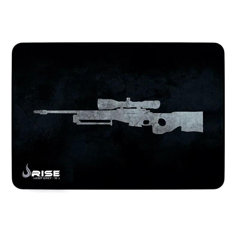 MousePad Gamer Rise Grande 42x29 cm Sniper Gray RG-MP-05-SPG