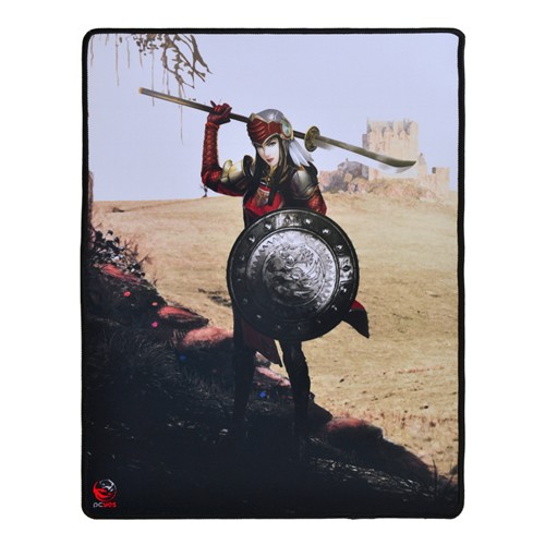 MousePad Gamer rpg valkyrie 400X500mm  - 40X50cm - PCYES