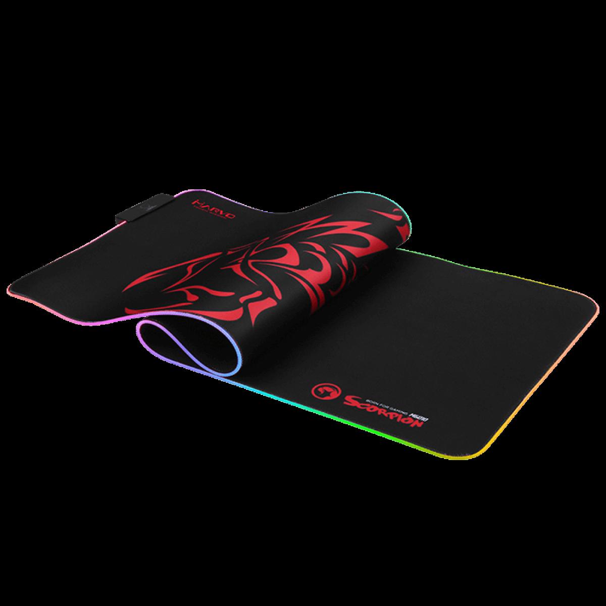 MousePad RGB Marvo Gamer Speed MG010 Lighting 800 x 305 x 3 mm