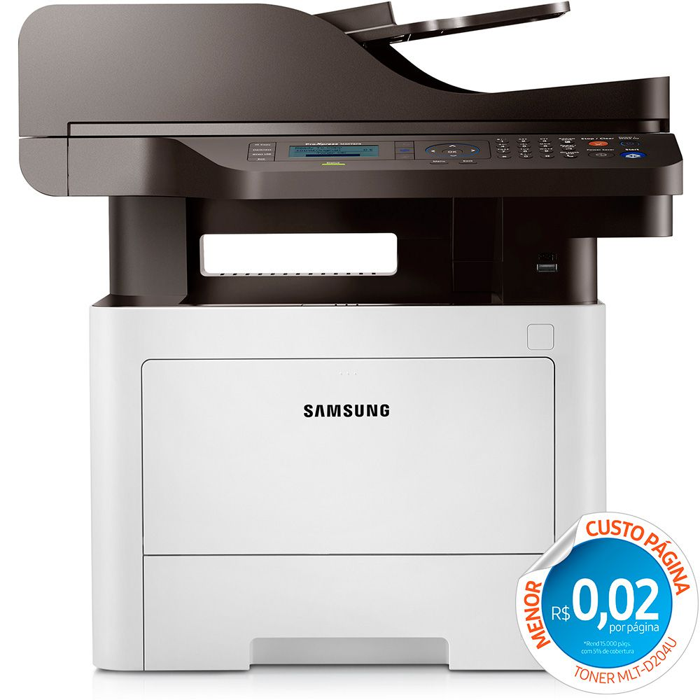 Multifuncional Samsung M4075FR Laser Mono - SL-M4075FR/XAB