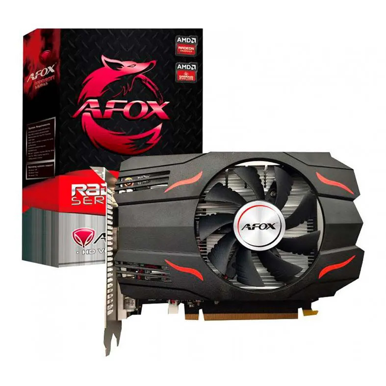 Placa de video Afox RX 550 4GB GDDR5 128Bit AFRX550-4096D5H3