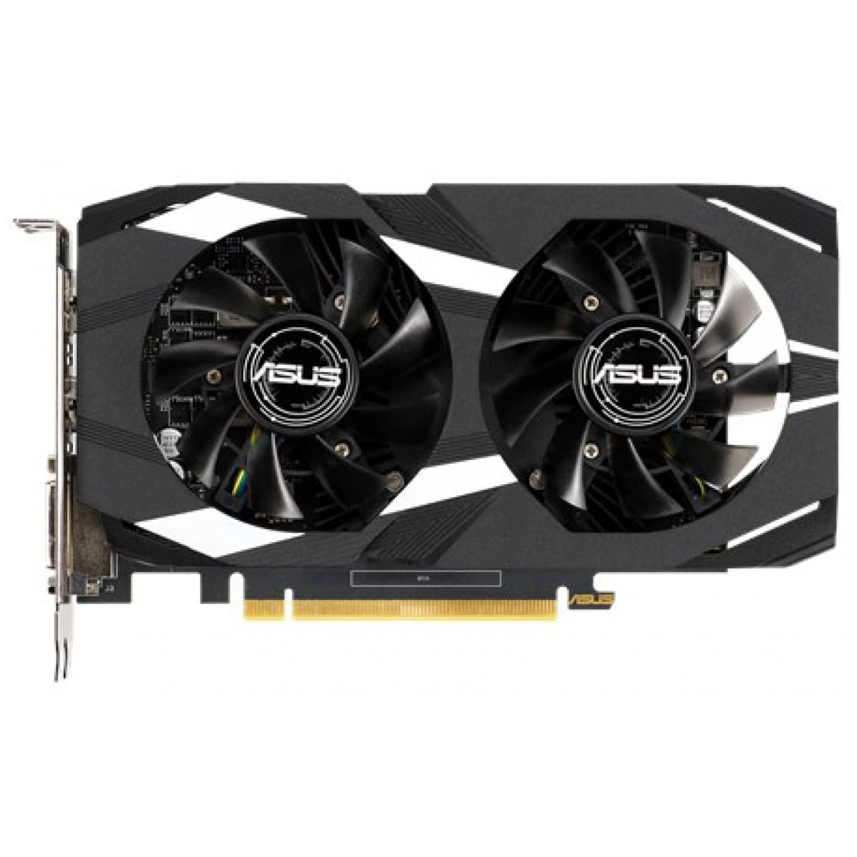 Placa de Vídeo Asus GeForce GTX 1650 4GB GDDR5 Dual Fan OC DUAL-GTX1650-O4G
