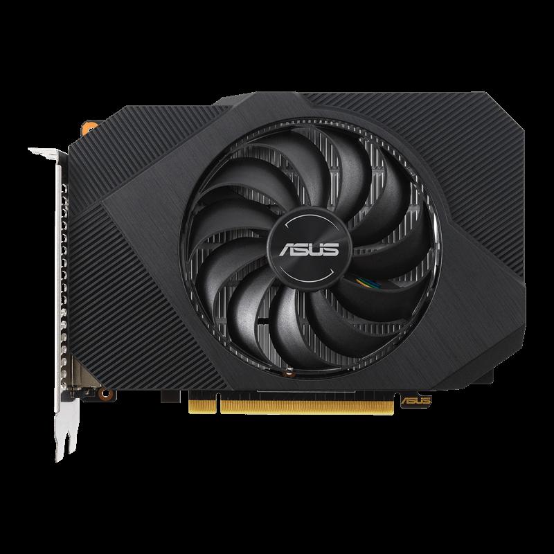 Placa de Vídeo Asus Phoenix Nvidia GeForce GTX 1650 OC Edition 4GB GDDR6 PH-GTX1650-O4GD6