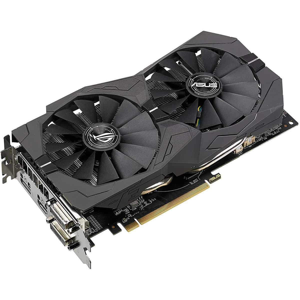 Placa de Vídeo ASUS Radeon RX 570 ROG STRIX OC 4GB Gaming
