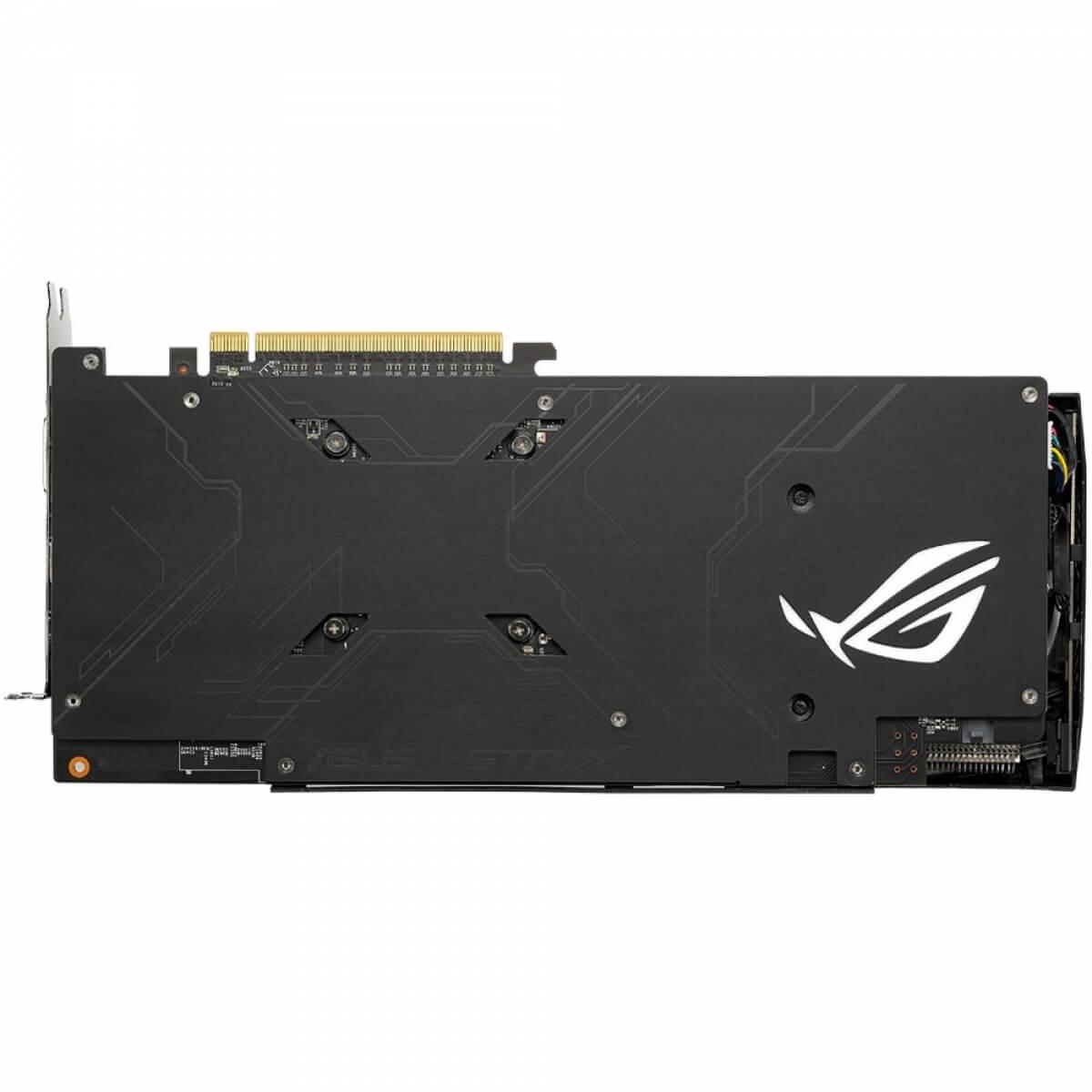 Placa de Vídeo ASUS Radeon RX 580 STRIX ROG Edition ROG-STRIX-RX580-T8G 8GB GDDR5