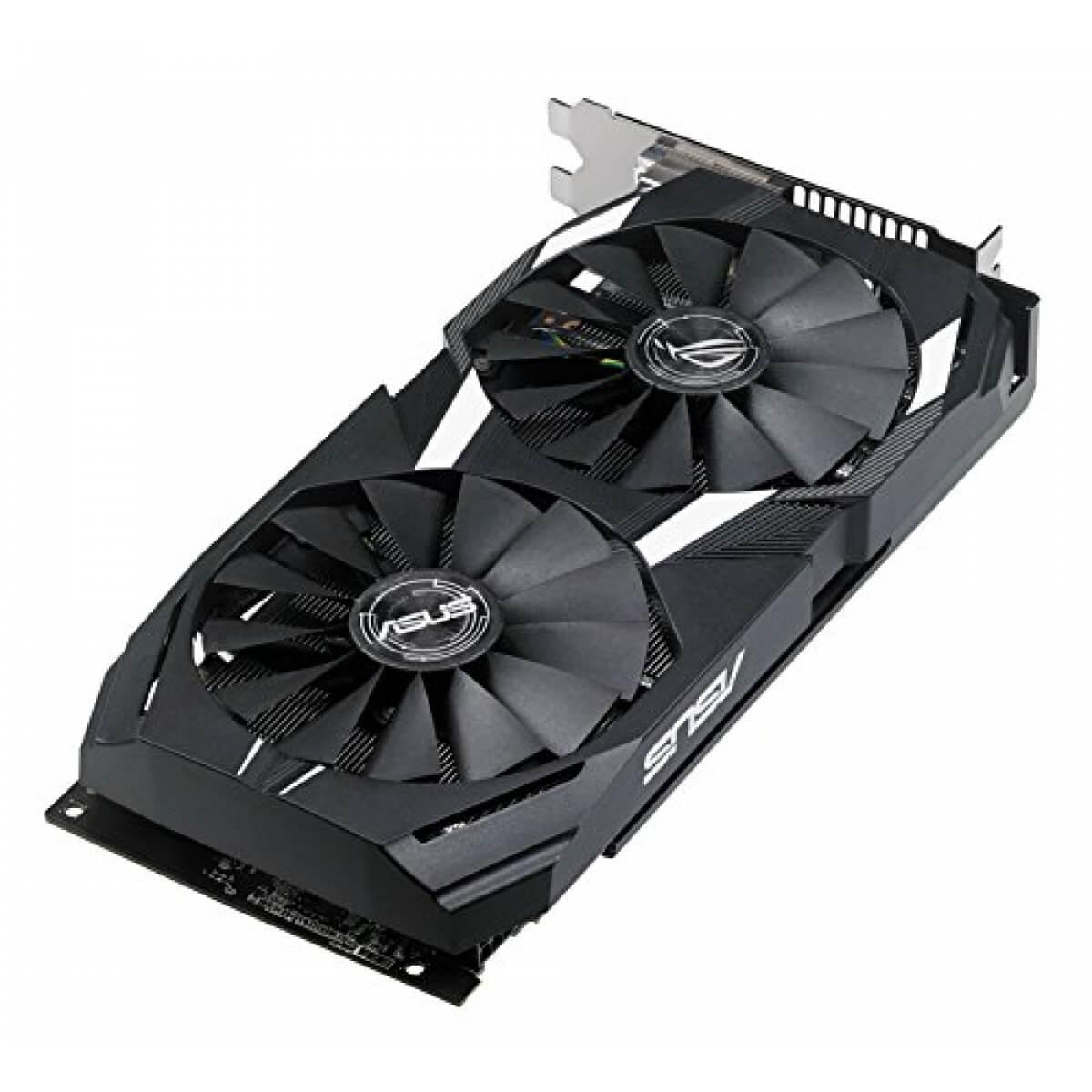 Placa de Vídeo ASUS RX 580 4GB Radeon Dual OC 4GB DUAL-RX580-O4G GDDR5