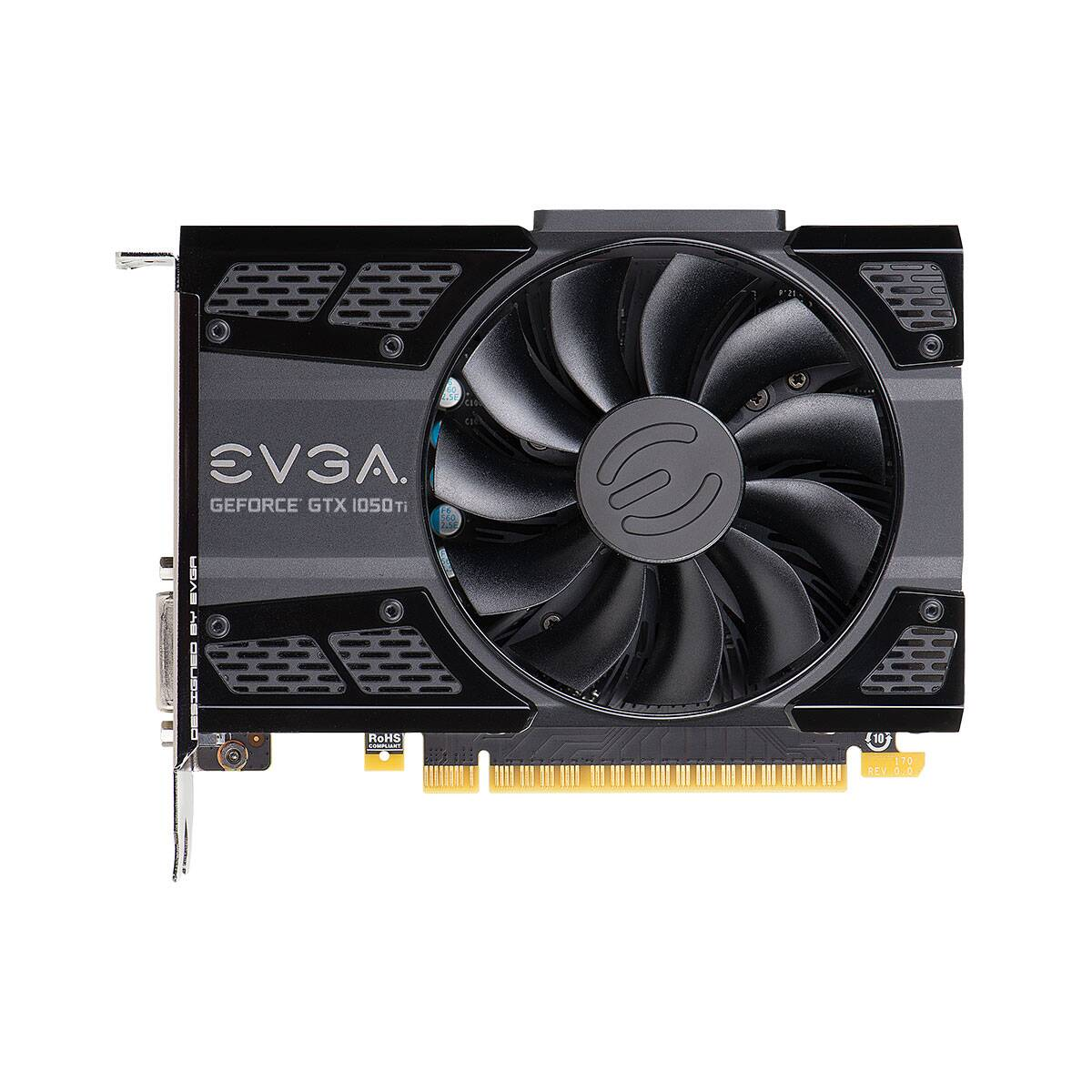 Placa de vídeo EVGA Geforce GTX 1050TI GDDR5 4GB - 04G-P4-6251-KR