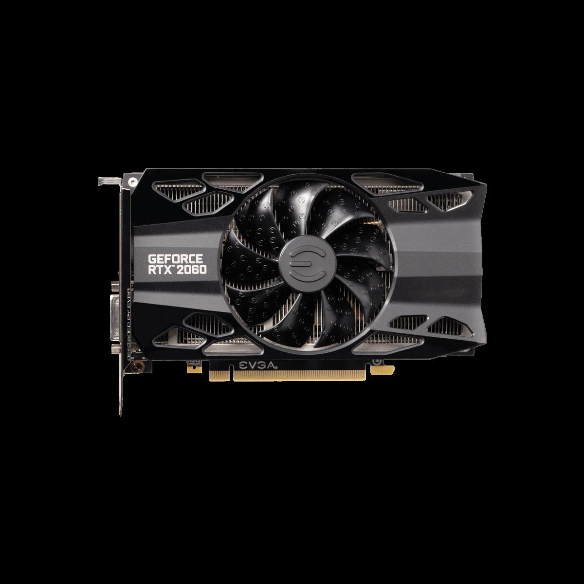Placa de Vídeo EVGA GeForce RTX 2060 XC 6GB GDDR6 192bit 06G-P4-2063-KR