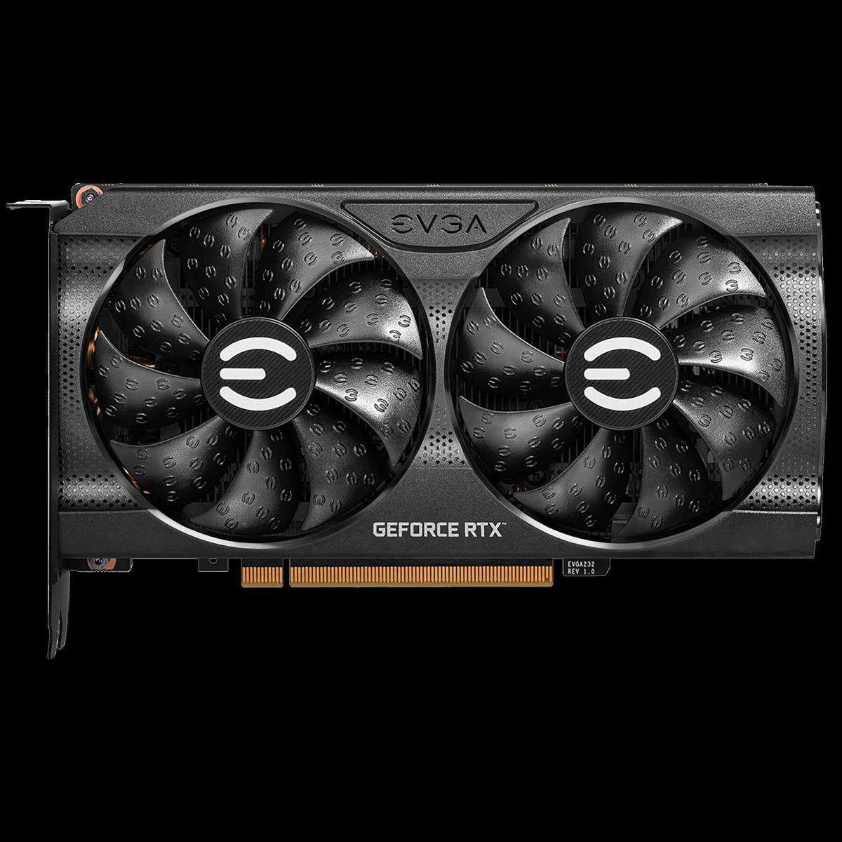 Placa de Vídeo EVGA GeForce RTX 3060 XC Gaming 12GB GDDR6 192bit 12G-P5-3657-KR