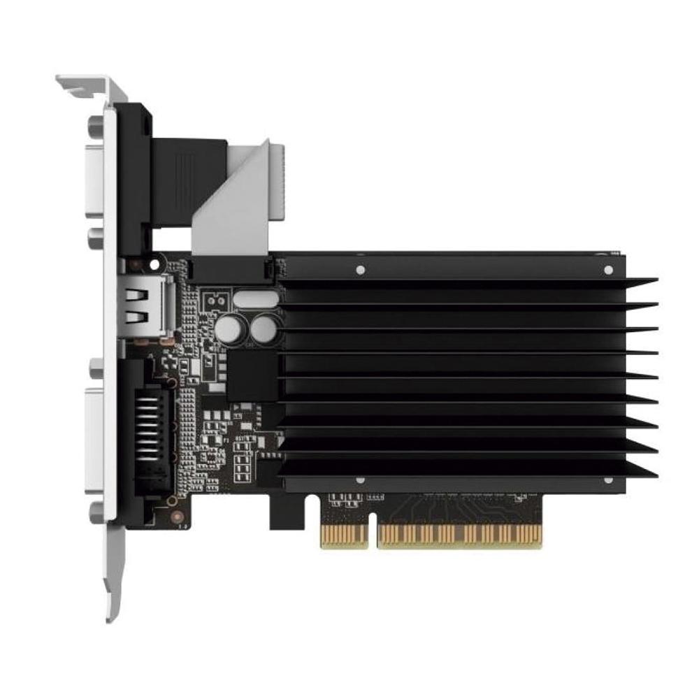 Placa de Vídeo Gainward GeForce GT 710 2GB GDDR3 64Bit NEAT7100HD46-2080H
