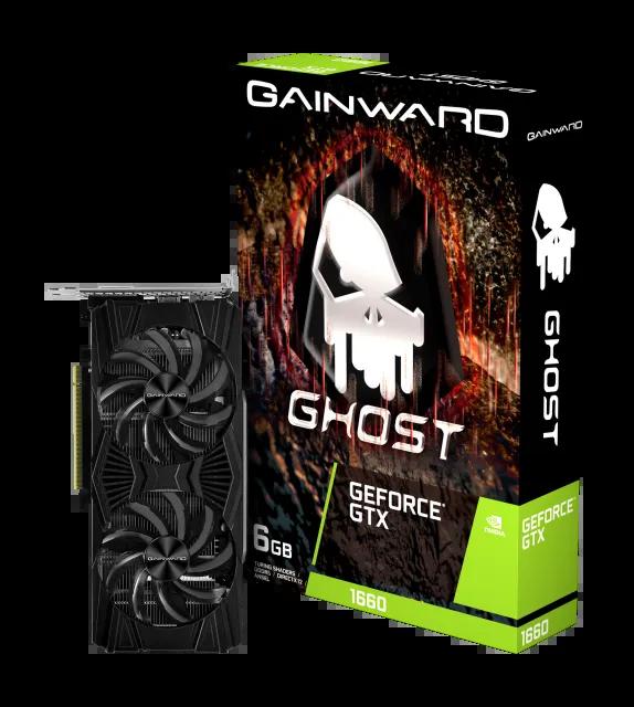 Placa de Vídeo Gainward GTX 1660 6GB GDDR5 Dual Nvidia GeForce