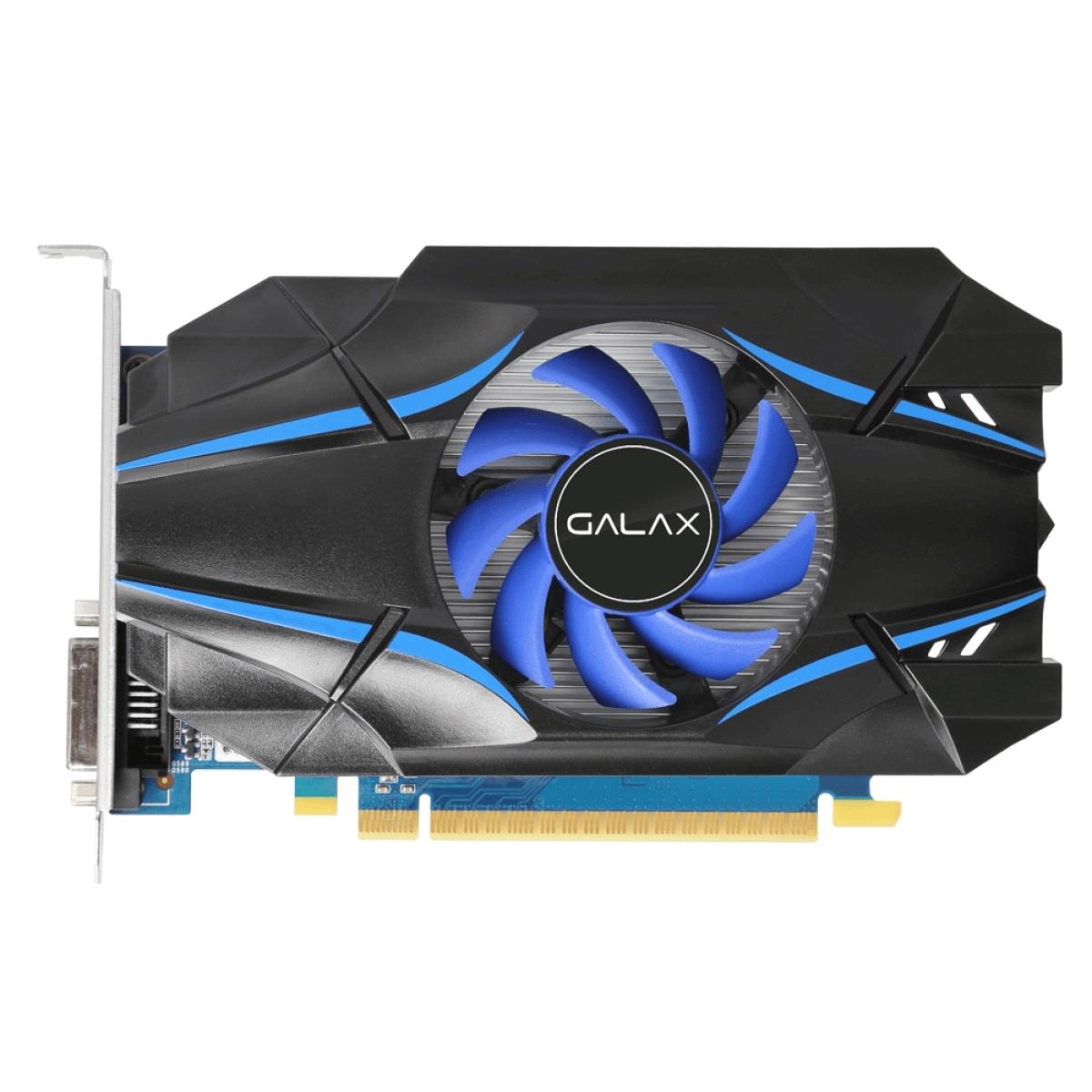 Placa de Video Galax GT 1030 Nvidia GeForce 2GB GDDR5 64Bits 30NPH4HVQ4ST