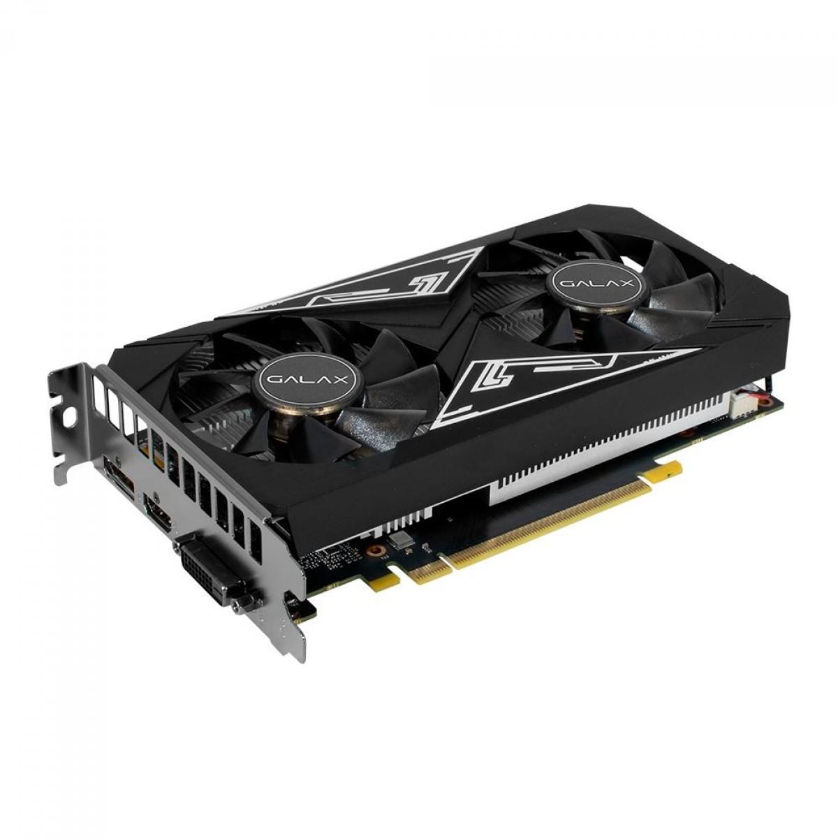 Placa de Vídeo Galax NVIDIA GeForce GTX 1650 EX Plus 1-Click OC 4GB GDDR6 65SQL8DS93E1