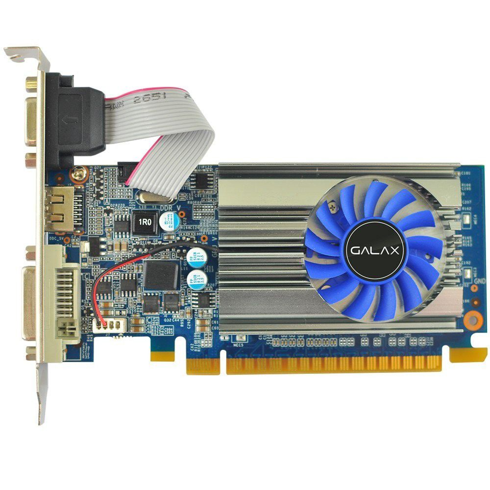 Placa de vídeo Geforce GT 710 1GB DDR3 64Bits 71GGH4HXJ4FN