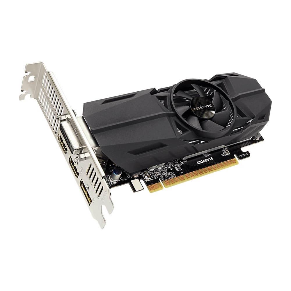 Placa de Vídeo Gigabyte Geforce GTX 1050 LOW Profile 2GB OC GDDR5 128BIT GV-N1050OC-2GL