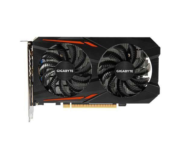 Placa de vídeo Gigabyte GeForce GTX 1050 TI OC 4GB GV-N105TOC-4GD GDDR5 Pci-Exp