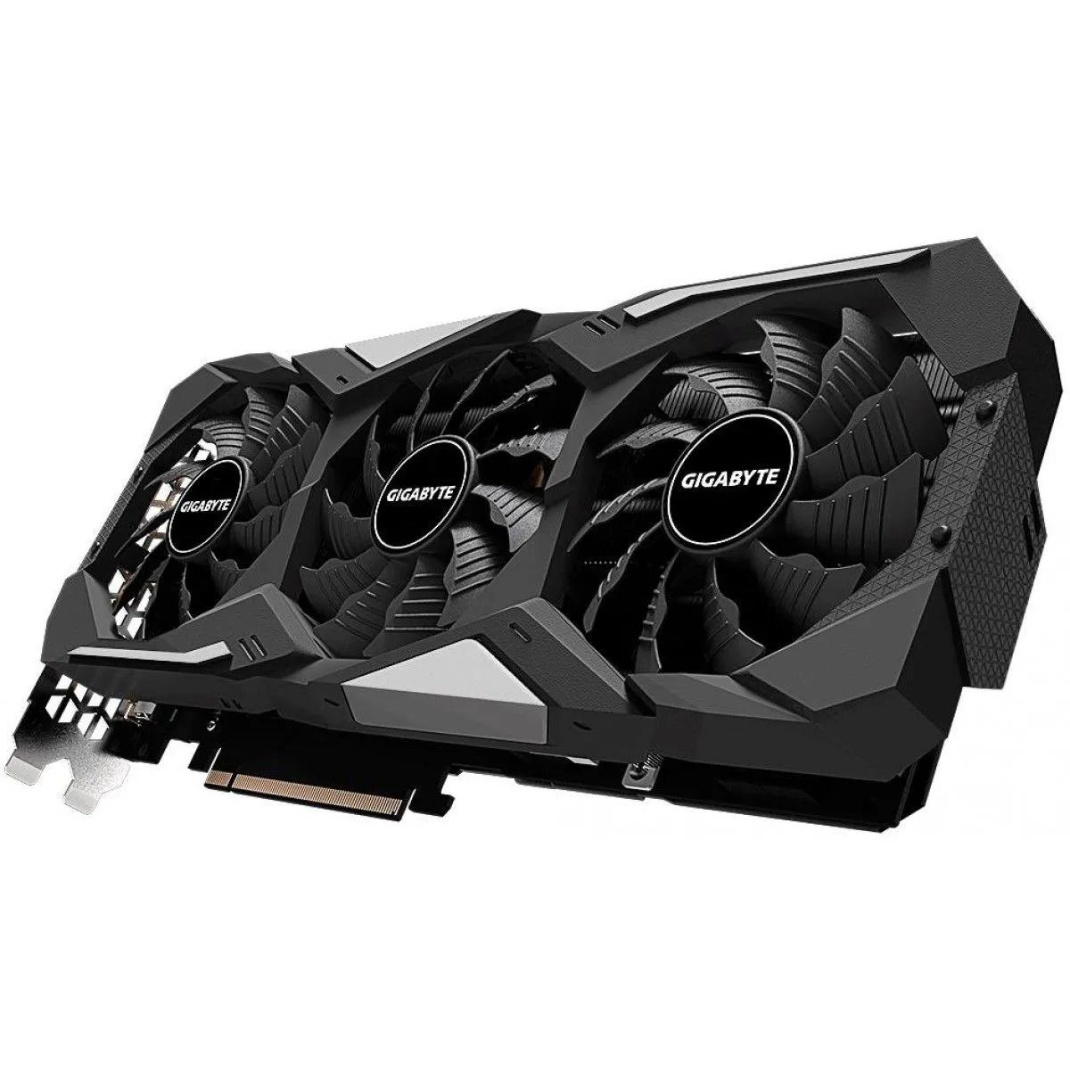 Placa de Vídeo Gigabyte GeForce RTX 2080 Super WindForce OC 256 Bits GV-N208SWF3OC-8GD