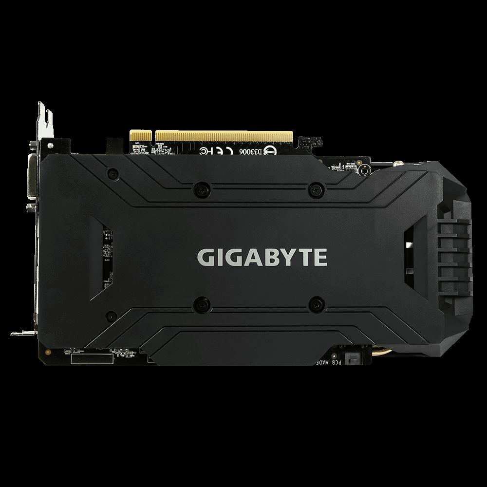 Placa de vídeo Gigabyte Gtx 1060 Windforce OC 6G GDDR5 PCI-E