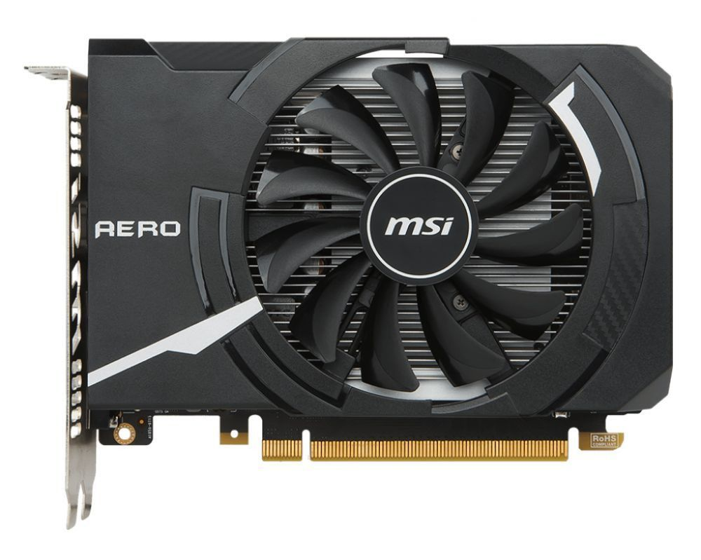 Placa de vídeo MSI Geforce GTX 1050 Aero 2GB - 912-V809-2455