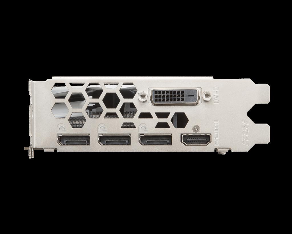 Placa de video MSI Radeon RX 570 Armor 4GB GDDR5 OCV1