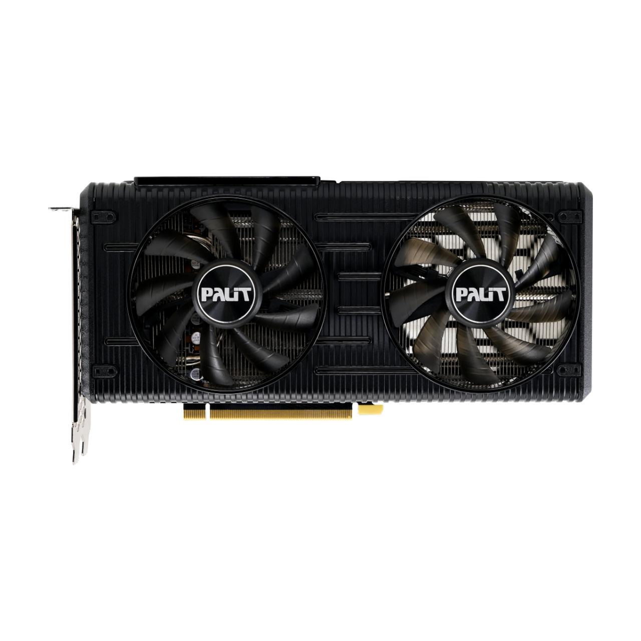Placa de Vídeo Palit NVIDIA GeForce RTX 3060 Dual OC 12GB, GDDR6, 192bit, NE63060T19K9-190AD