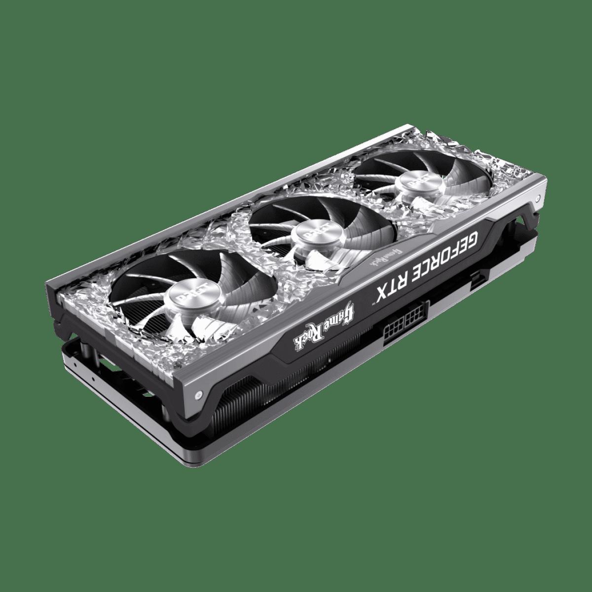 Placa de Vídeo Palit NVIDIA GeForce RTX 3070 GameRock 8GB GDDR6 DLSS Ray Tracing Mineração NE63070019P2-1040G