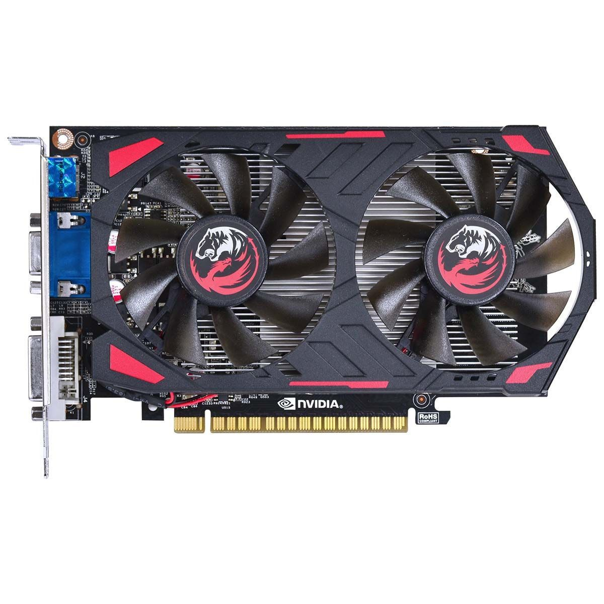 Placa de vídeo PCYes GTX 750TI 2GB - PPV750TI12802D5