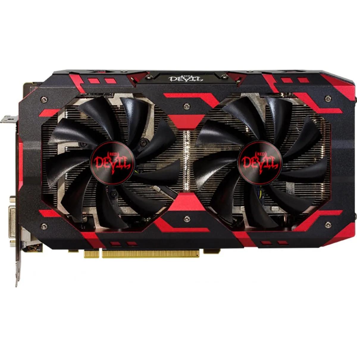 Placa de Vídeo Power Color Radeon RX 580 Red Devil Dual 8GB GDDR5 256Bit AXRX 580 8GBD5-3DH/OC