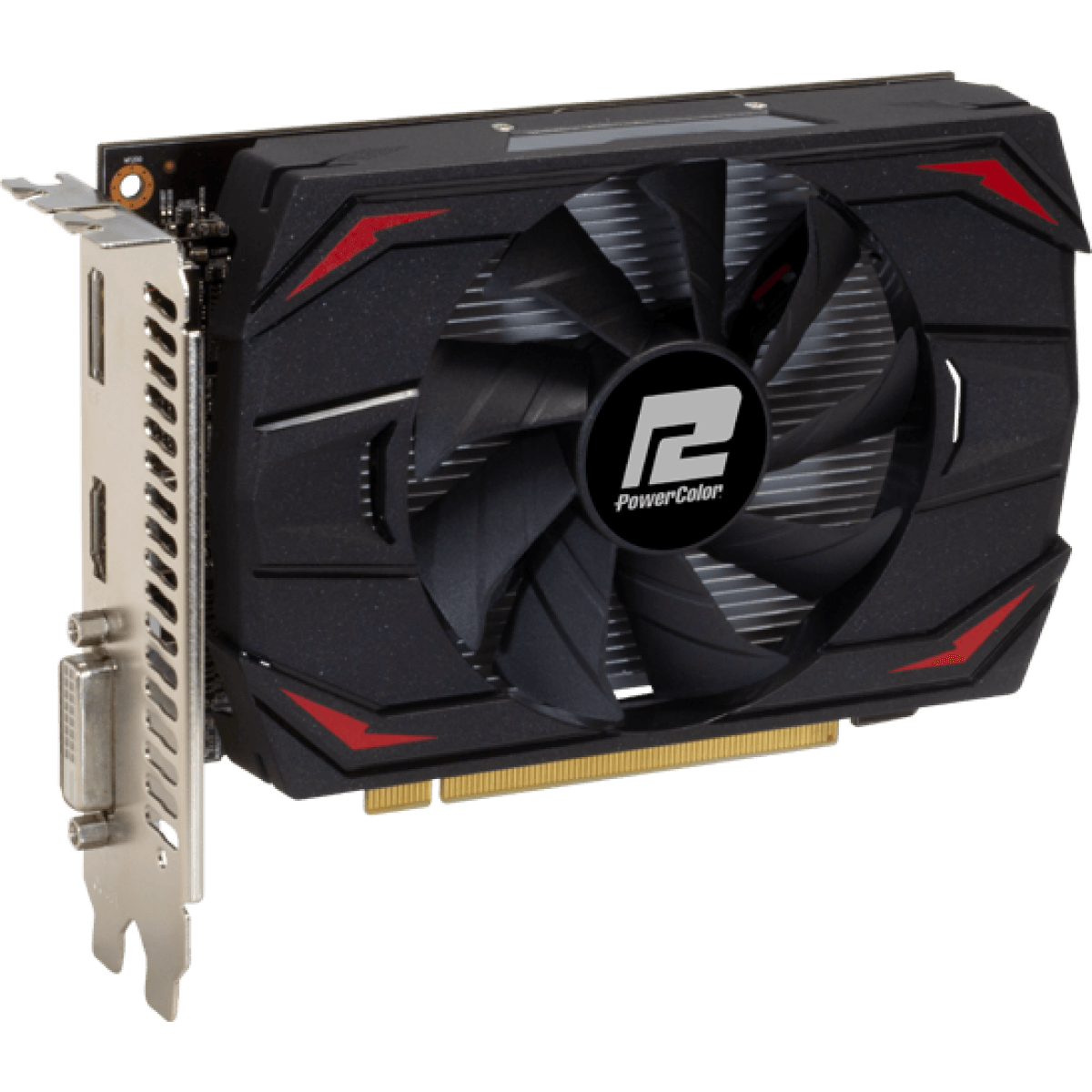 Placa de Vídeo PowerColor Radeon RX 550 Red Dragon 2GB GDDR5 64Bit AXRX 2GB64BD5-DH