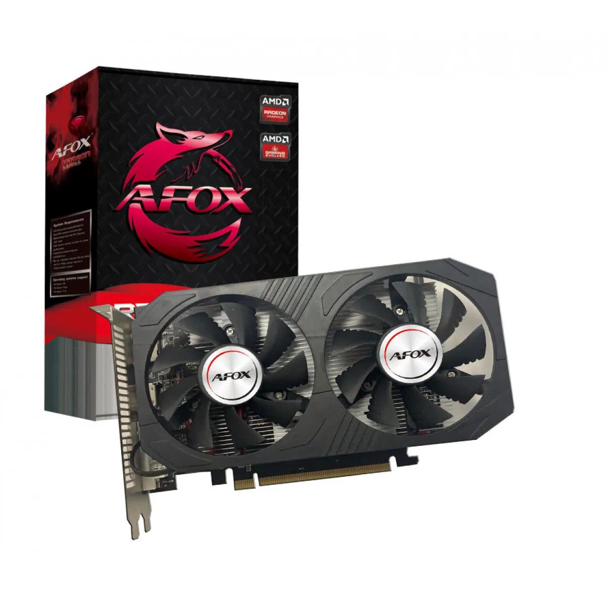 Placa de vídeo RX 560 4GB Radeon Afox GDDR5 128Bit AFRX560D-4096D5H4-V2