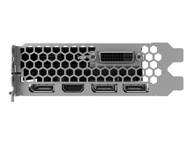 Placa de Vídeo VGA PNY GTX 1060 6GB DDR5 192BITS 8000MHZ