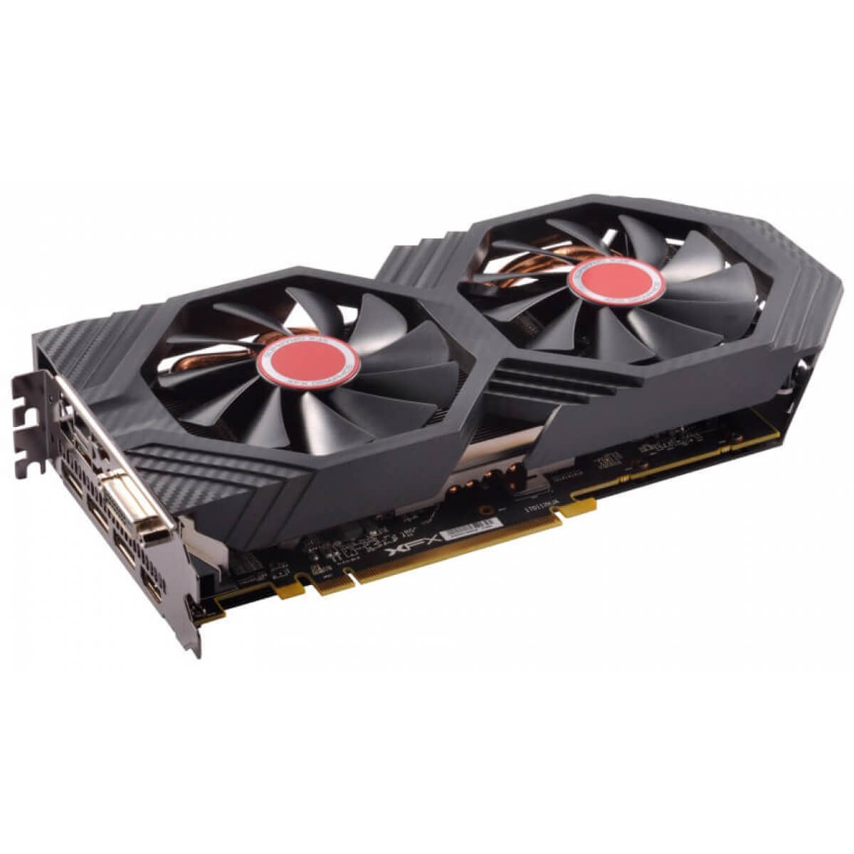 Placa de Video XFX Radeon, RX 580 Dual OC 8GB GDDR5 256Bits, RX-580P8DFD6