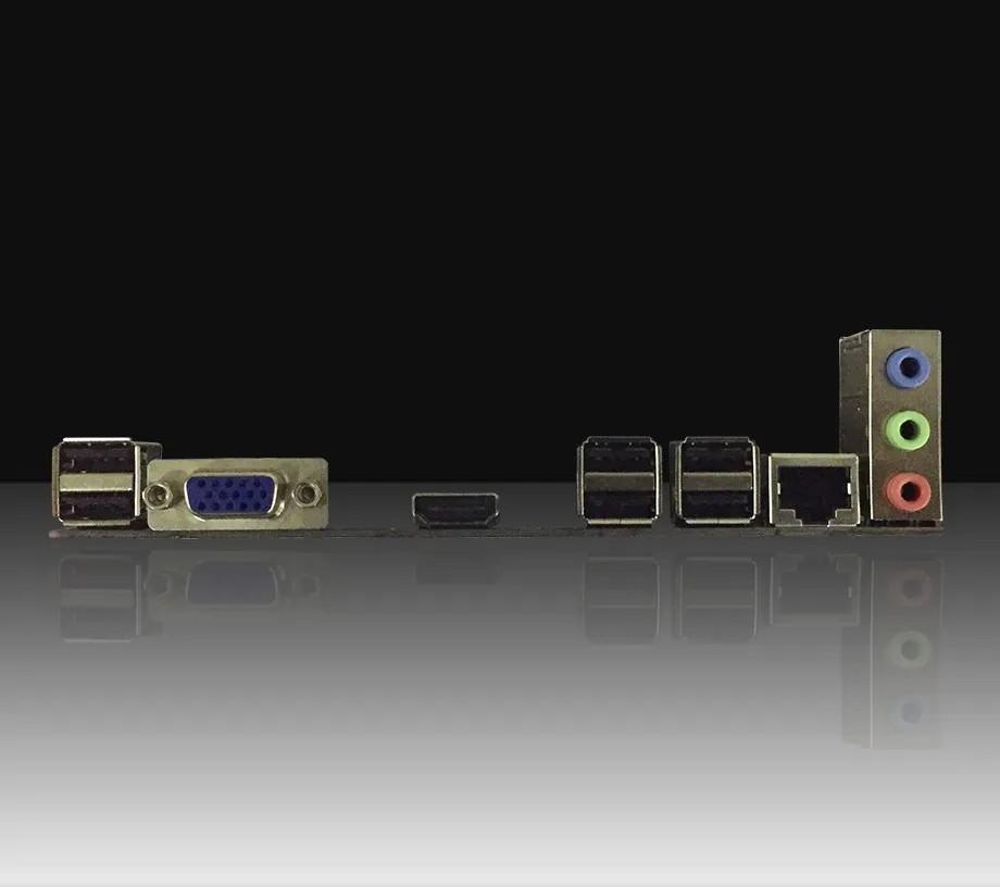 Placa mãe Afox IH61-MA5 Chipset H61 Intel LGA 1155 mATX DDR3
