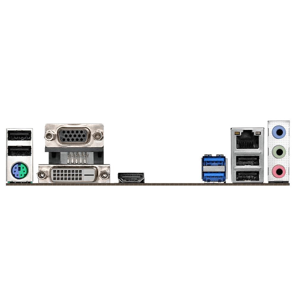 Placa Mãe ASRock H310CM-HDV Intel LGA 1151 Micro ATX DDR4