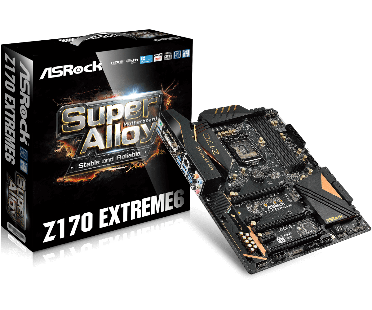Placa Mãe ASROCK Z170 EXTREME6 LGA 1151 DDR4 INTEL Z170
